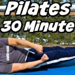 30 Minute Full Body Mat Pilates Core Workout with Sean Vigue Fitness
